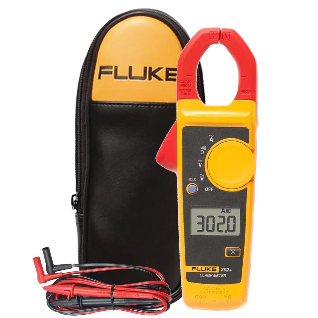 Alicate Amperímetro Digital 302+ FLUKE