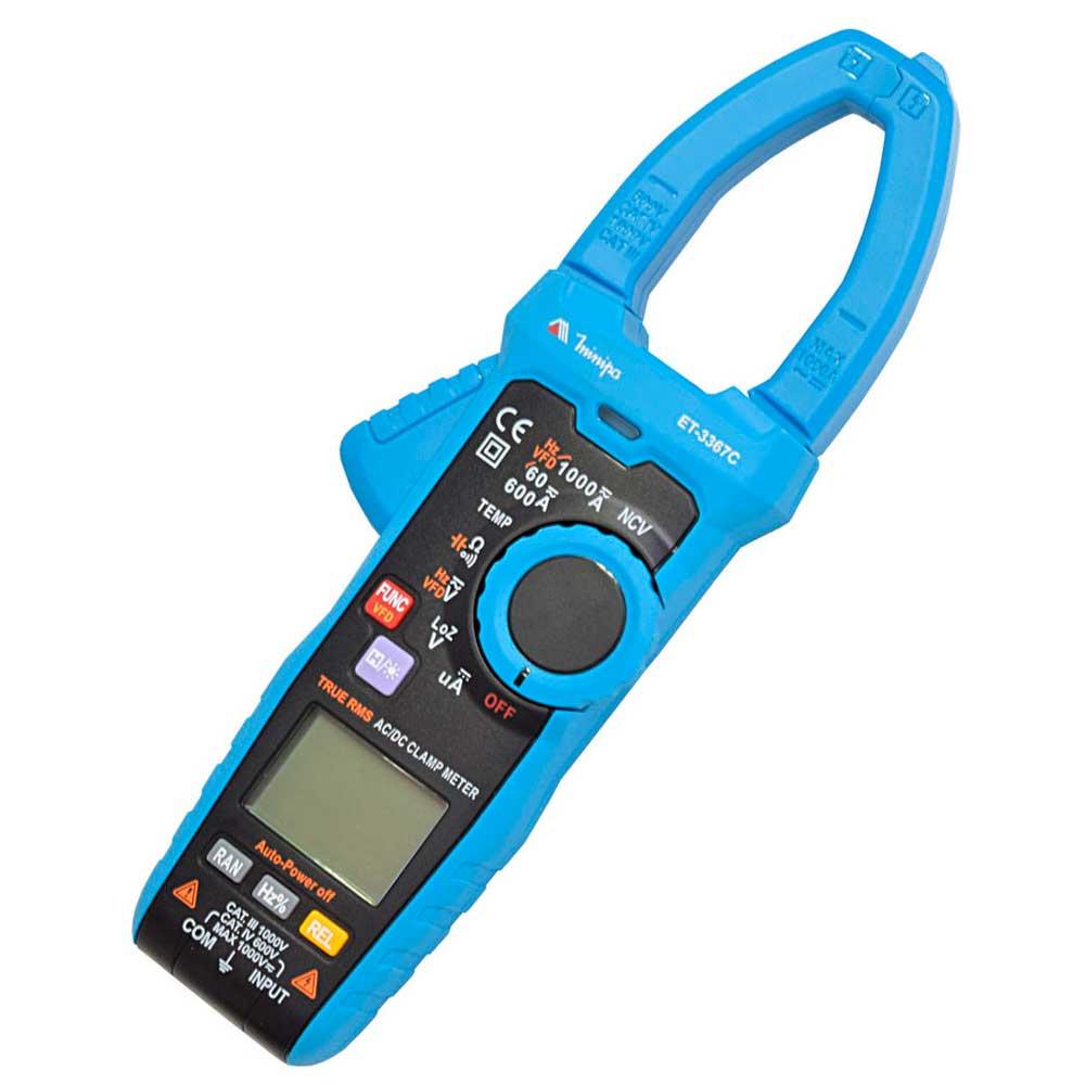 Alicate amperímetro digital 600 amperes - ET-3367C - Minipa