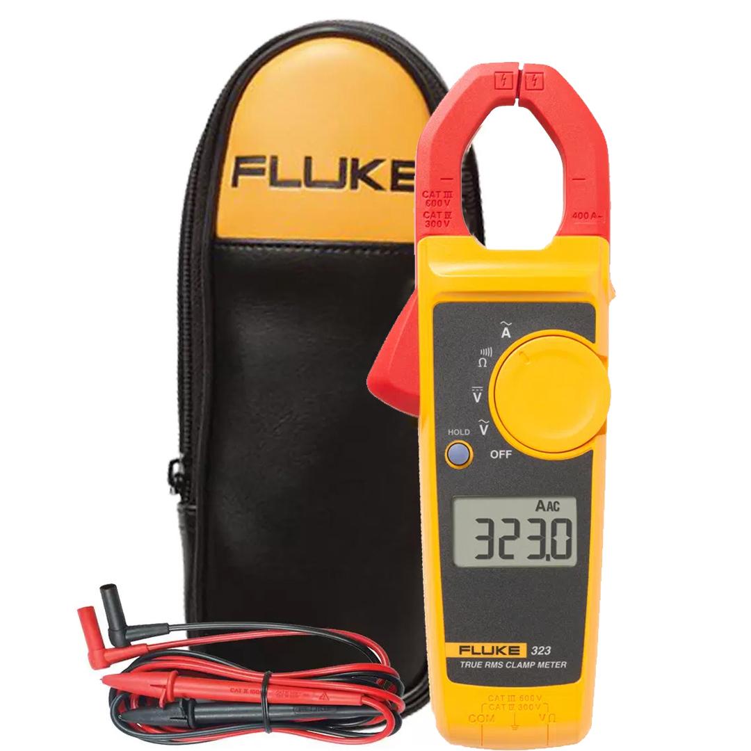 Alicate Amperímetro Digital True-RMS 400A FLUKE 323