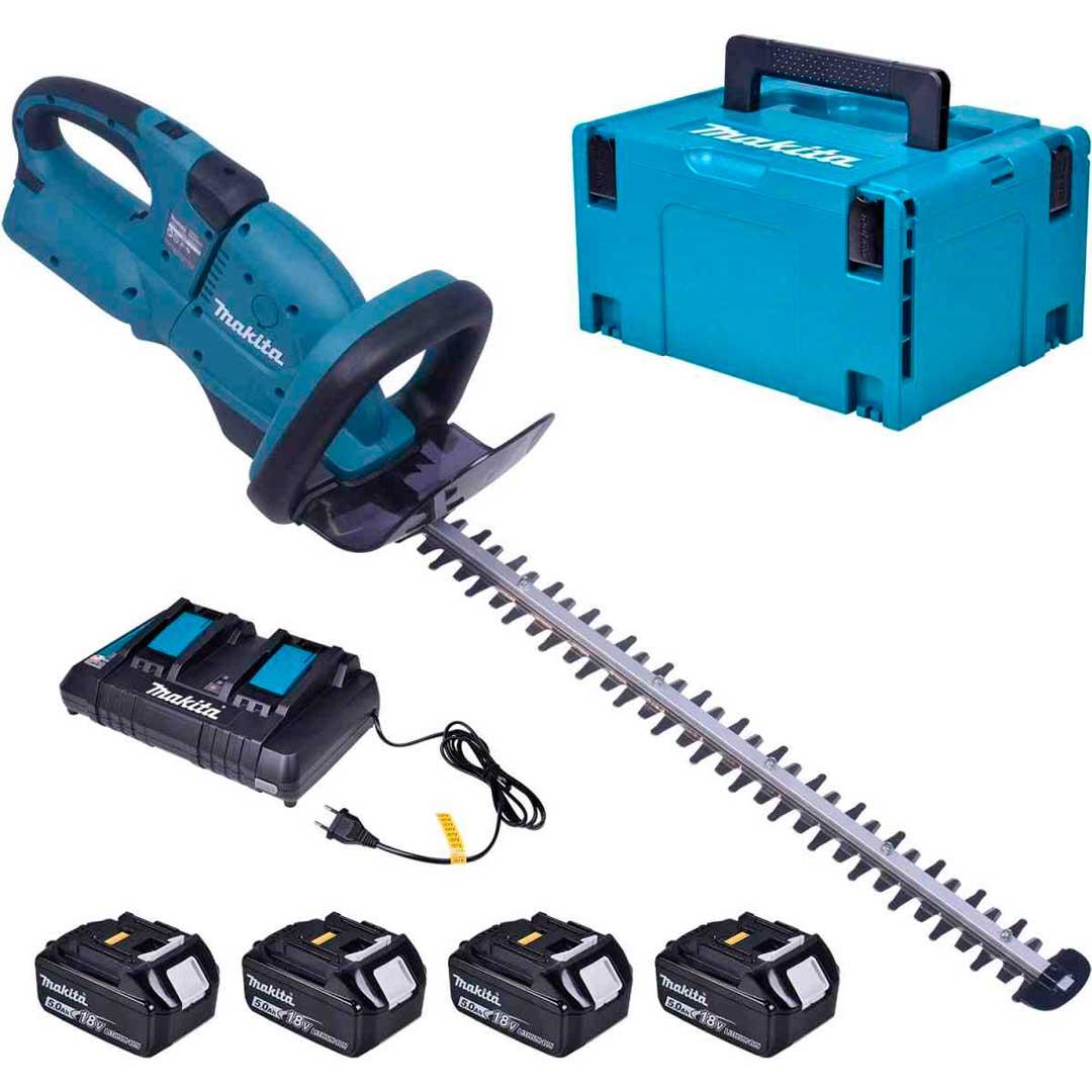 Aparador De Cerca Viva A Bateria 36v Duh551z-Kit220 Makita