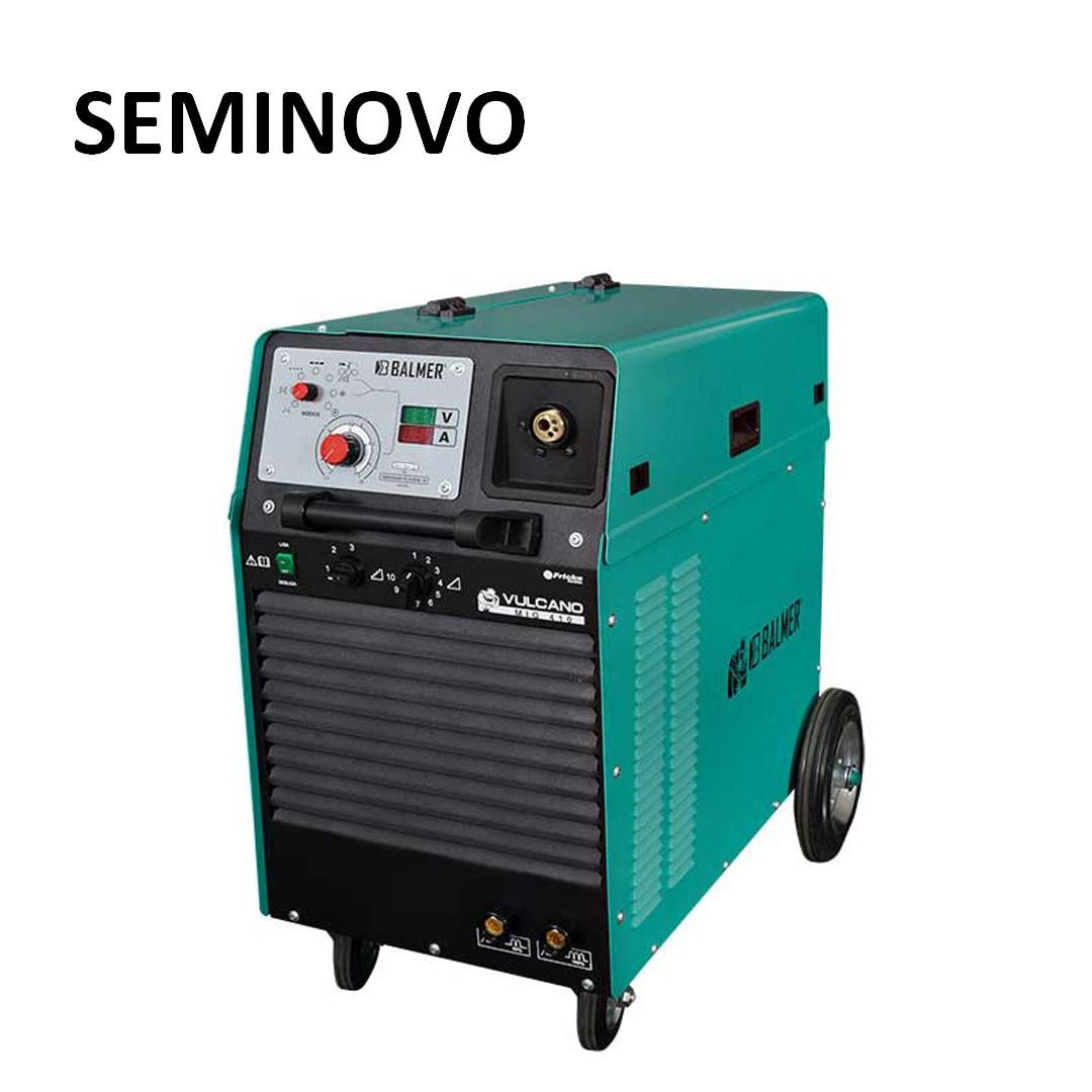 Aparelho De Solda Mig/Mag Trifasica Balmer Vulcano 410 Seminovo