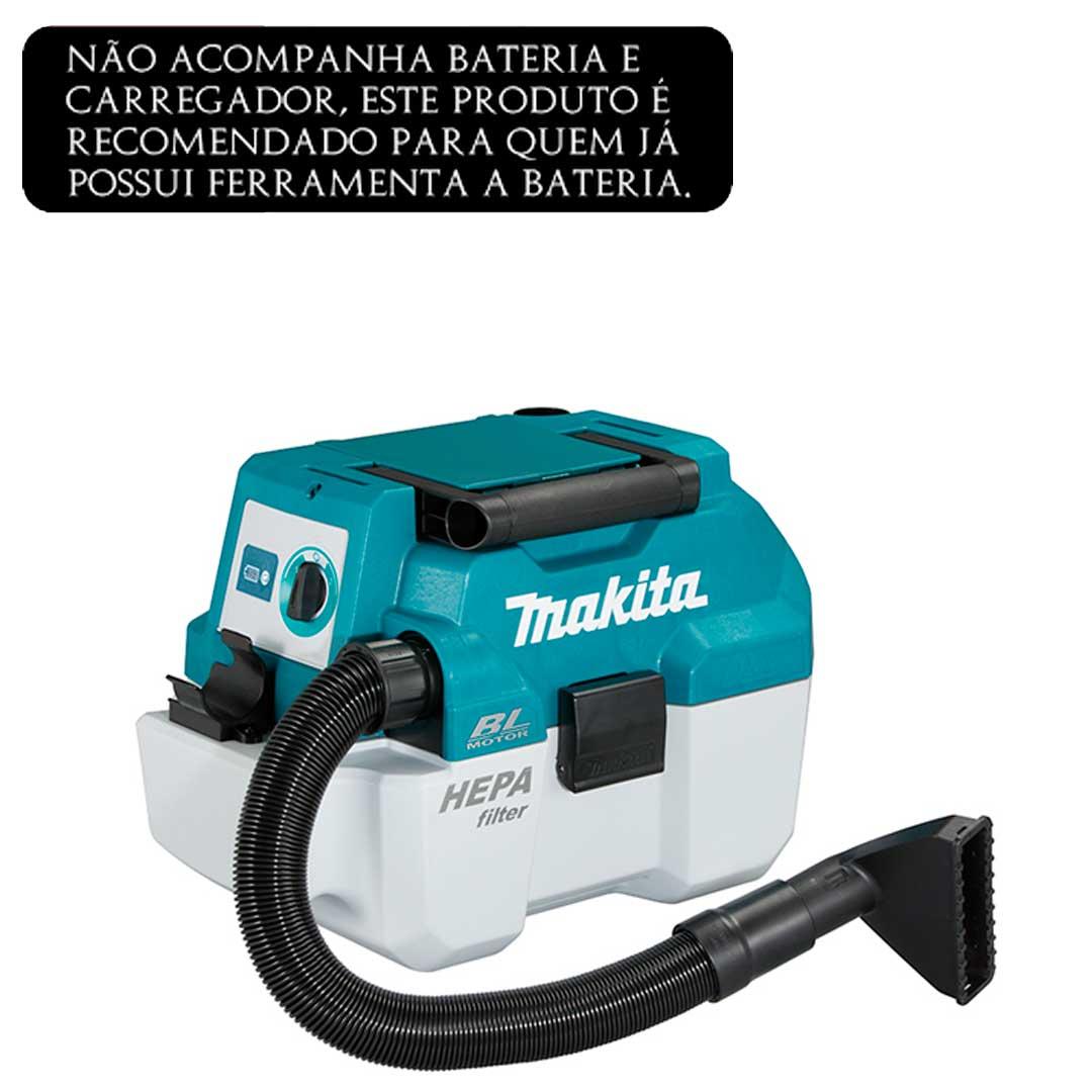 Aspirador A Bateria 18v Dvc750lz  Makita