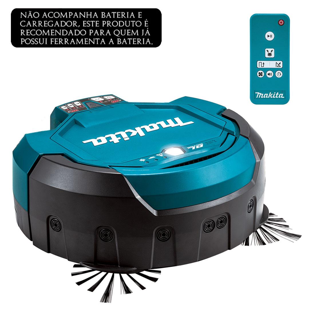 Aspirador Robô a Bateria 18V DRC200Z MAKITA