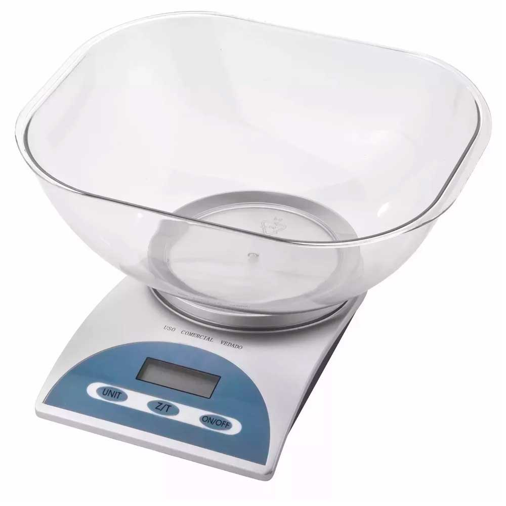 Balança Para Cozinha Digital 5kg Alta Precisão Kala