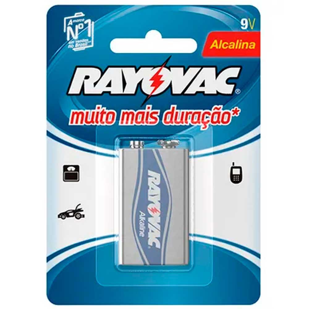 Bateria Alcalina 9V Rayovac