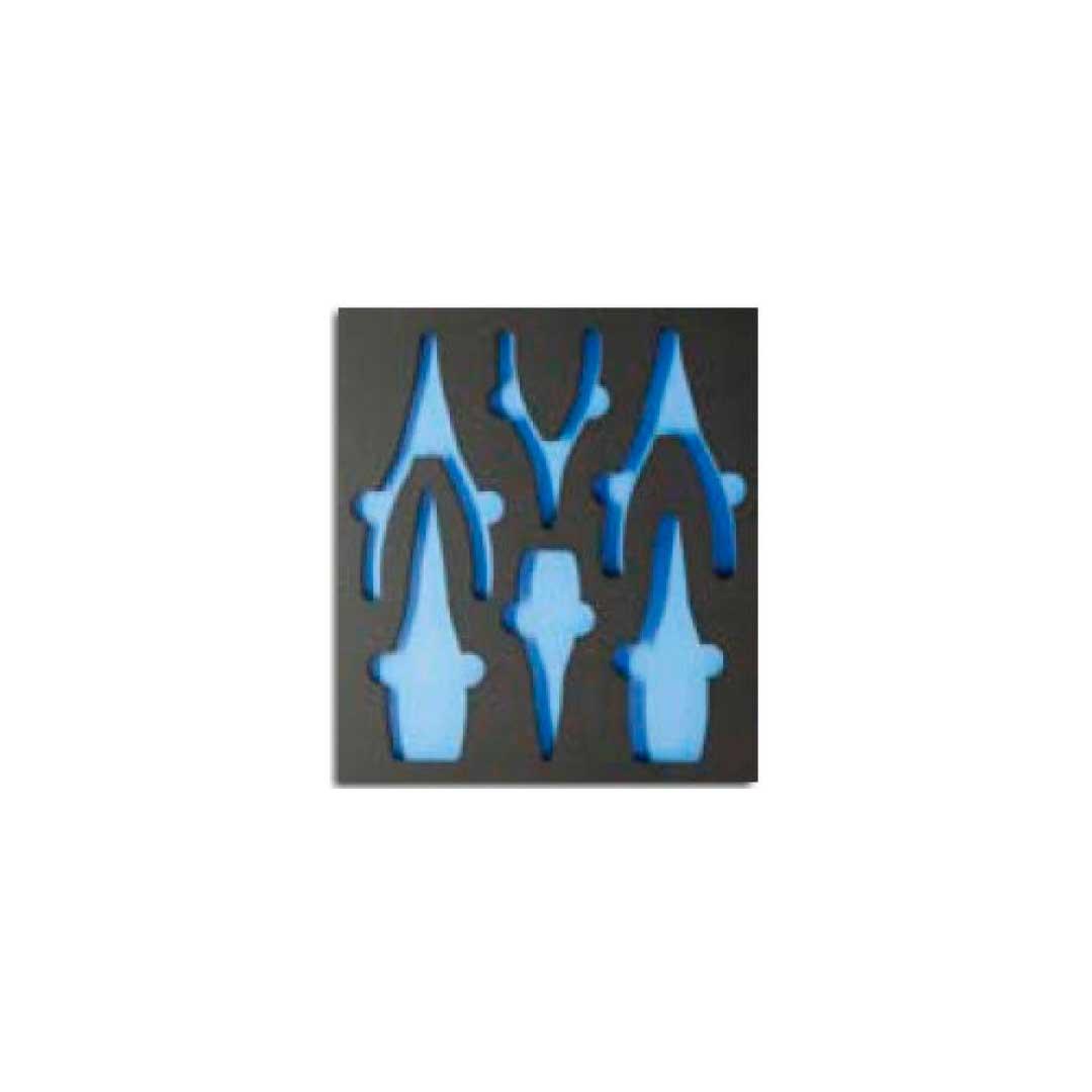 Berco Eva P/ Alicates Aneis 6 Pcs (1500ct2-Alicates 2) Gedore - 001.907