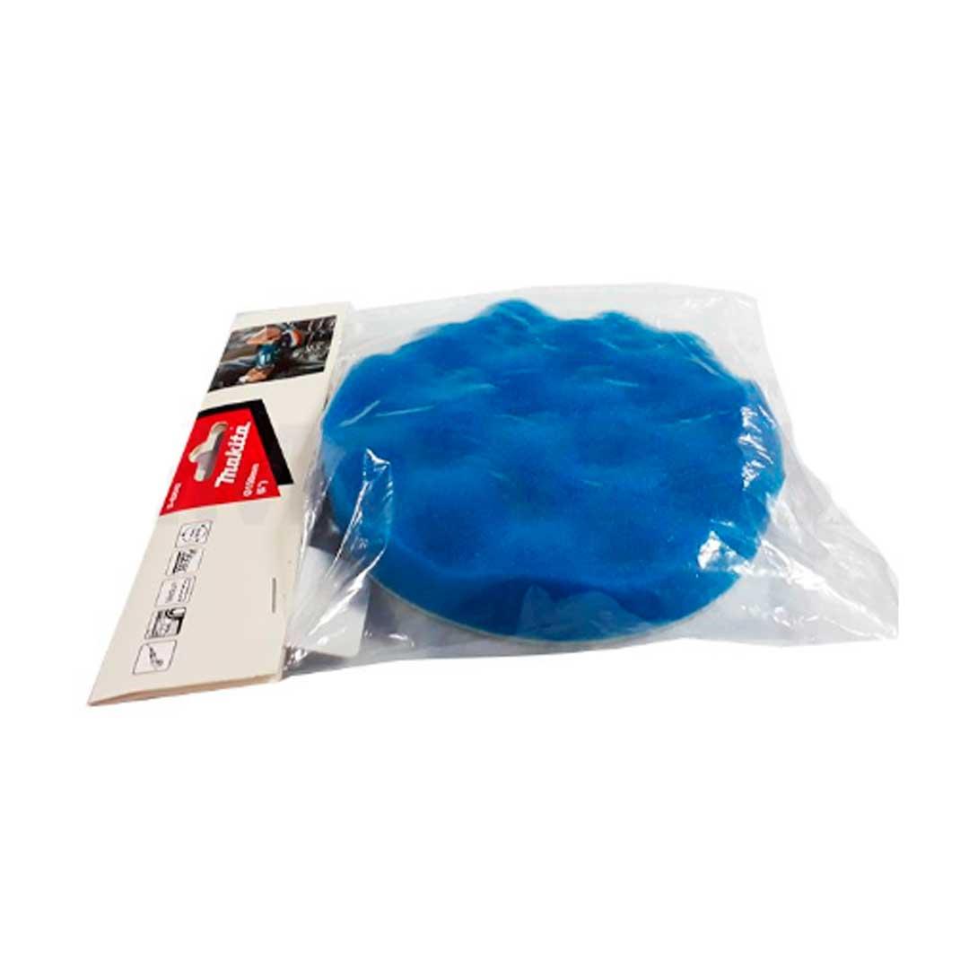 Boina Espuma P/ Polimento Azul Ondulada 150mm Makita D-62642