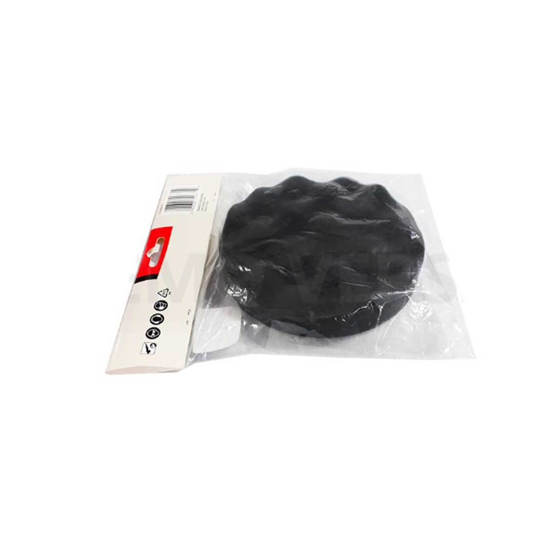 Boina Espuma P/ Polimento Preta Ondulada 150mm Makita D-62670