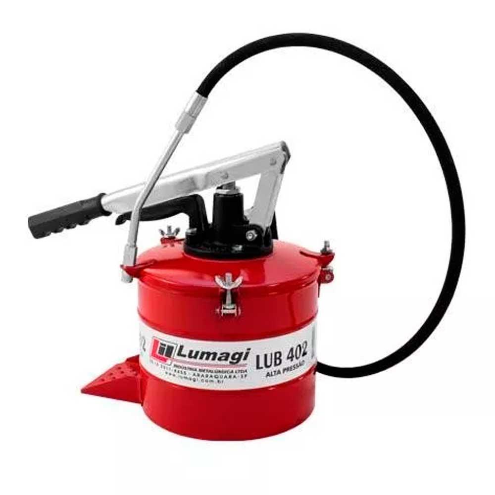 Bomba Engraxadeira Manual Alta Pressão  Lub 404 4kg - Lumagi