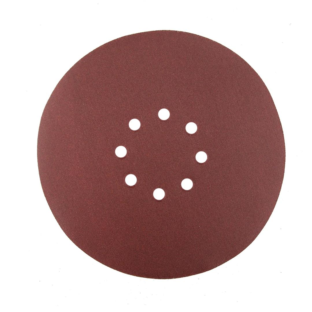 Caixa 50 Pcs Disco De Lixa C/ Velcro 8