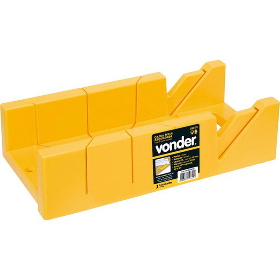 Caixa De Meia Esquadria Manual Plastica Vonder - 30 99 300 140