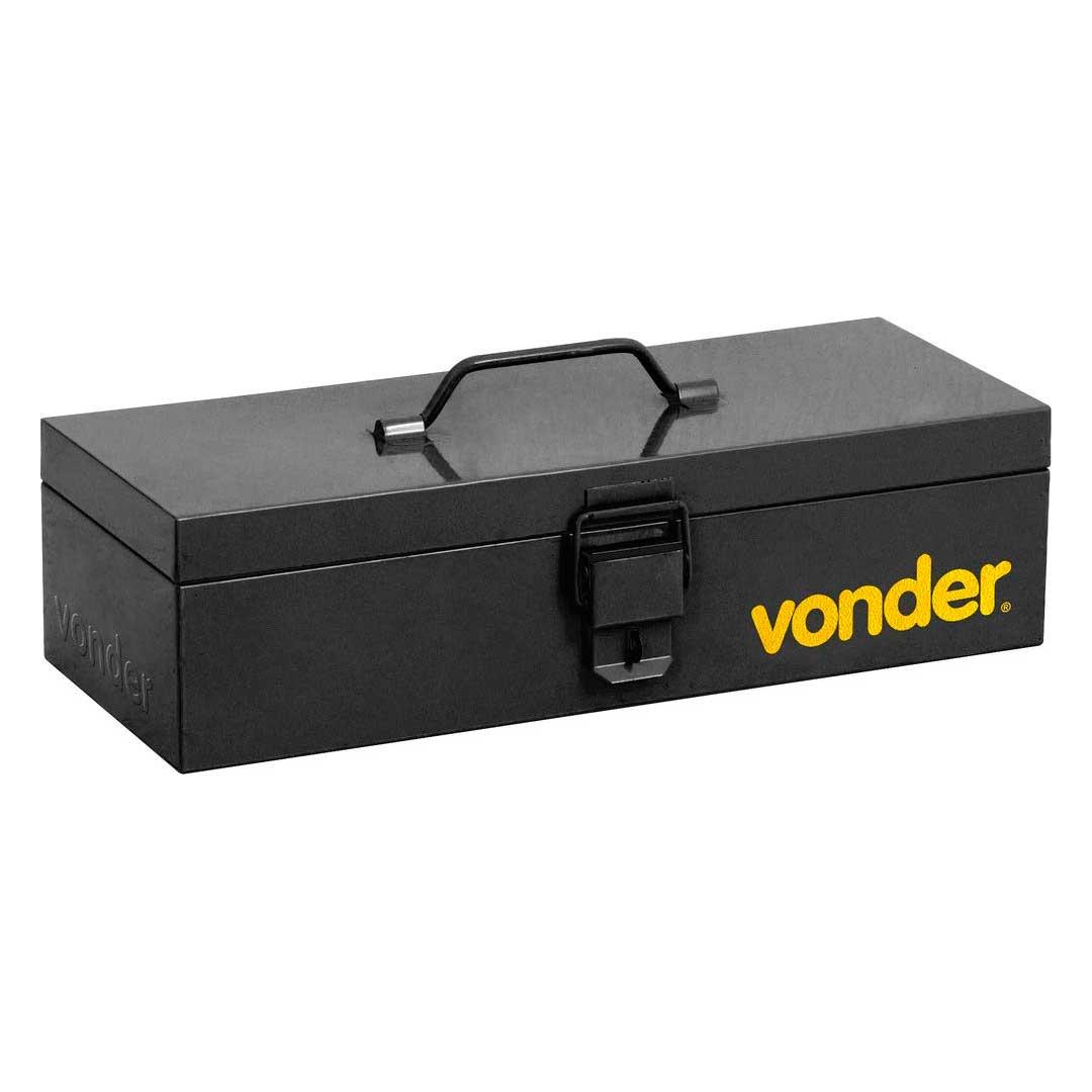 Caixa Ferramenta Metalica S/ Bandeja 40cm-6115401611-Vonder