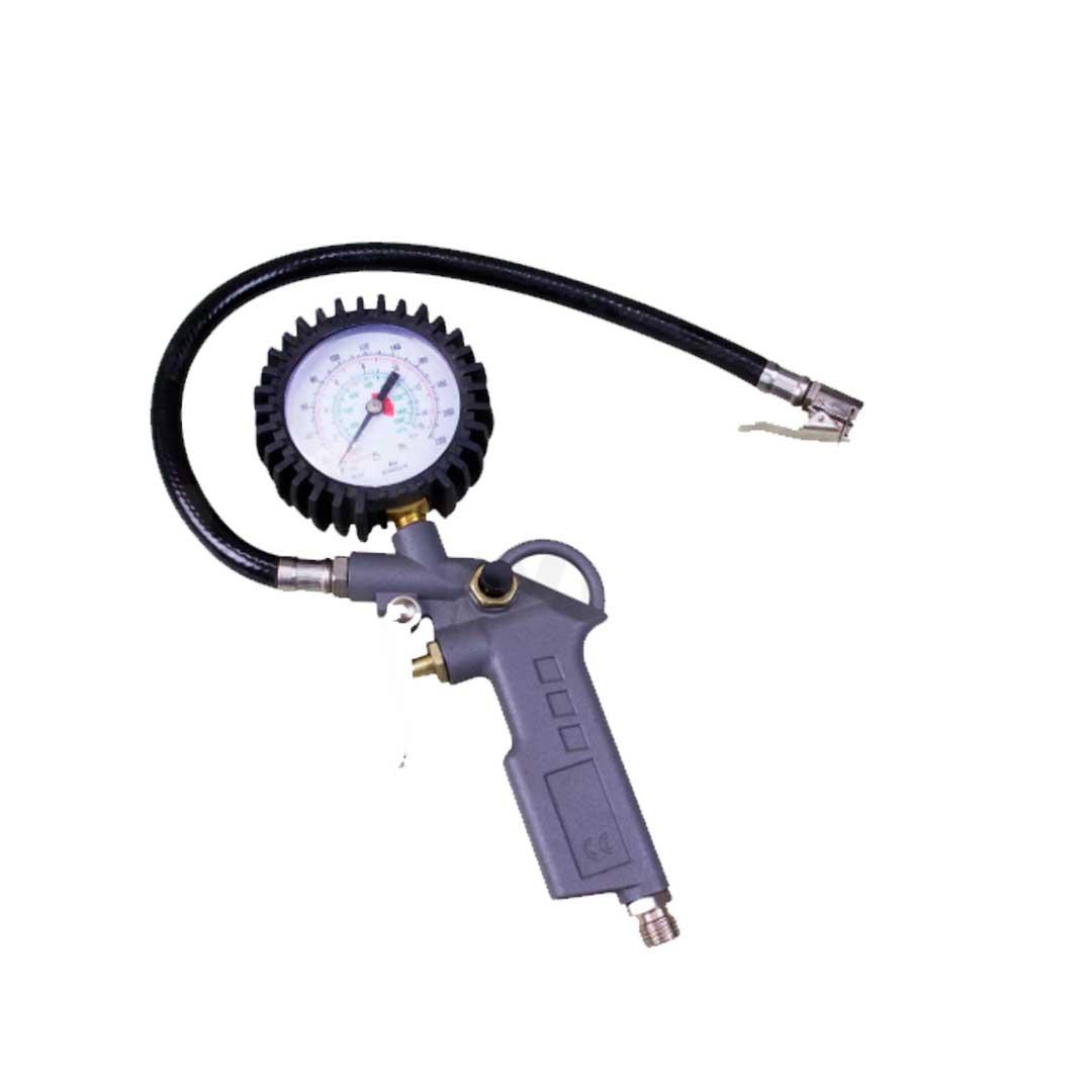 Calibrador / Inflador C/ Relogio - Gamma