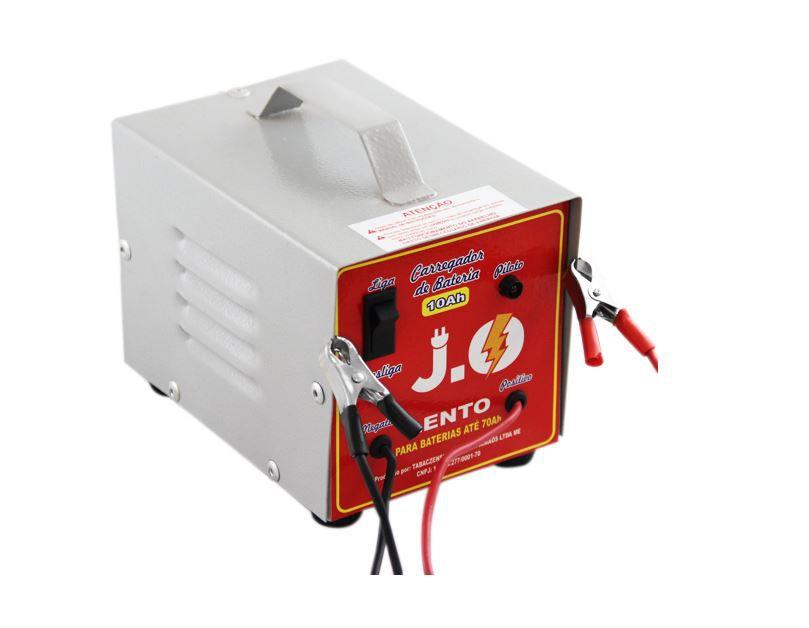 Carregador de bateria 10a 12v j.o. - cbc10a/12v