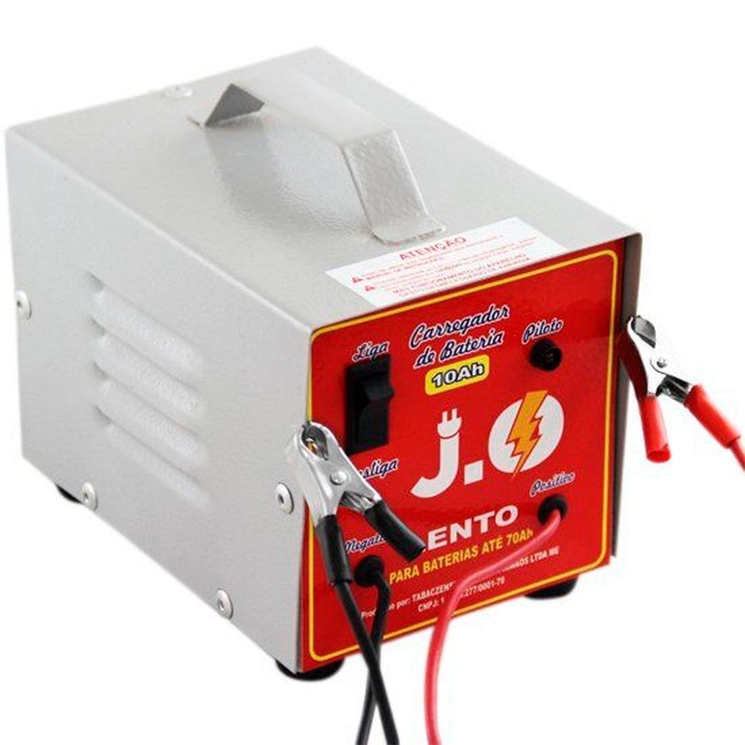 Carregador De Bateria Auto 10A 12v J.O. - CBC10A/12v