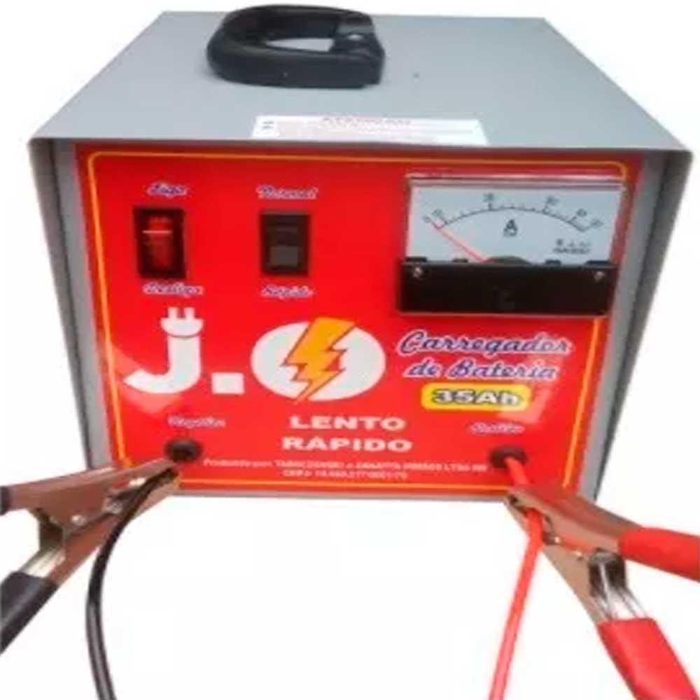 Carregador De Bateria Compacto J.o Modelo Carjo35a/bv
