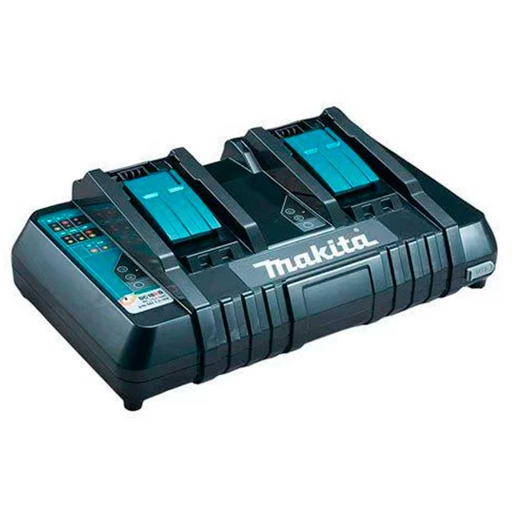 Carregador de Baterias 18V Duplo DC18RD - Makita 220v