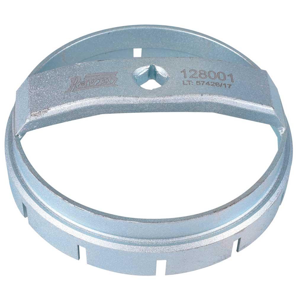 """Chave de 150 MM e Encaixe de 1/2"""" para A Porca Plástica do Conjunto Bóia/bomba 128001 - Raven"""