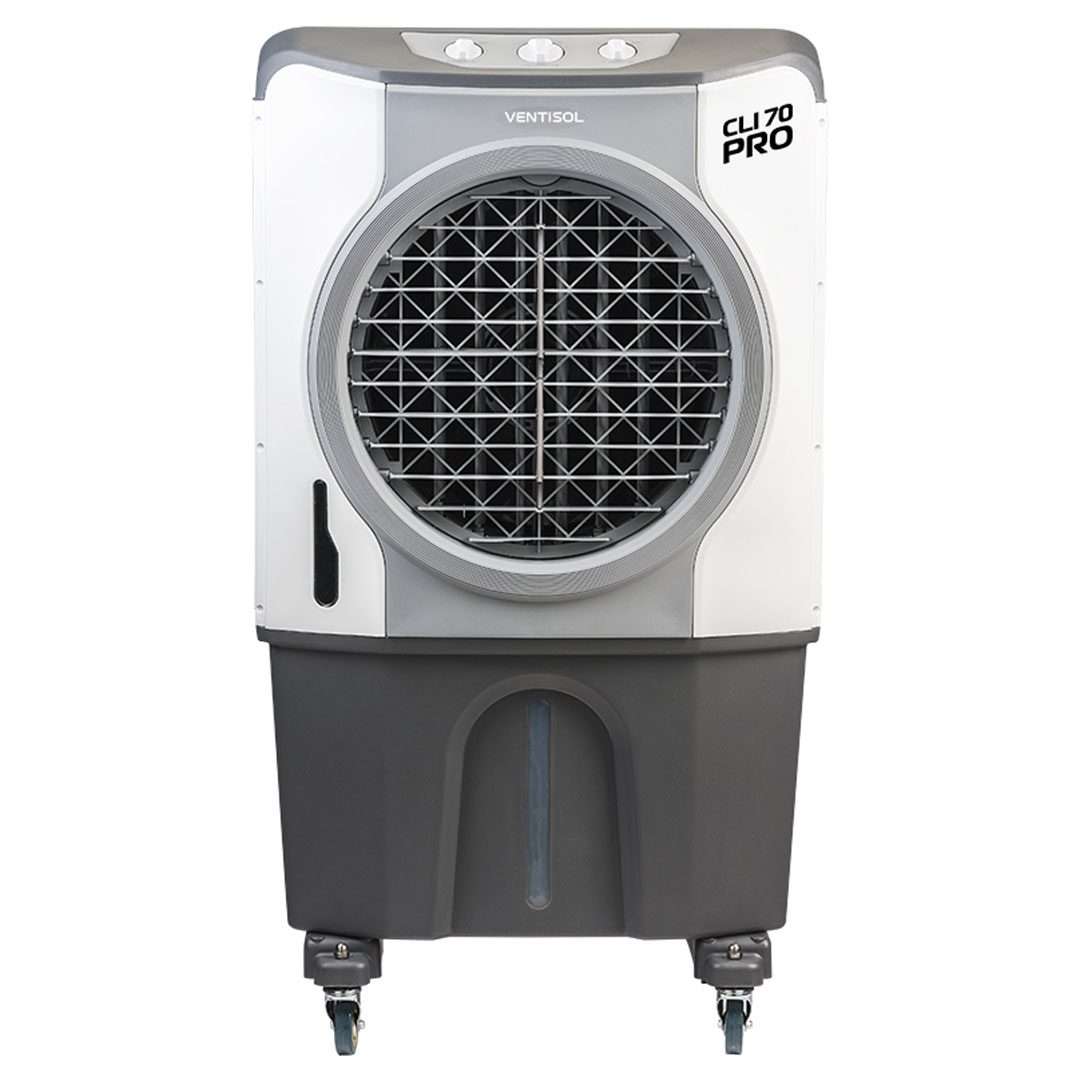 Climatizador CLI PRO 70 litros Evaporativo Industrial 210W CLI70 Ventisol 220V - 1056