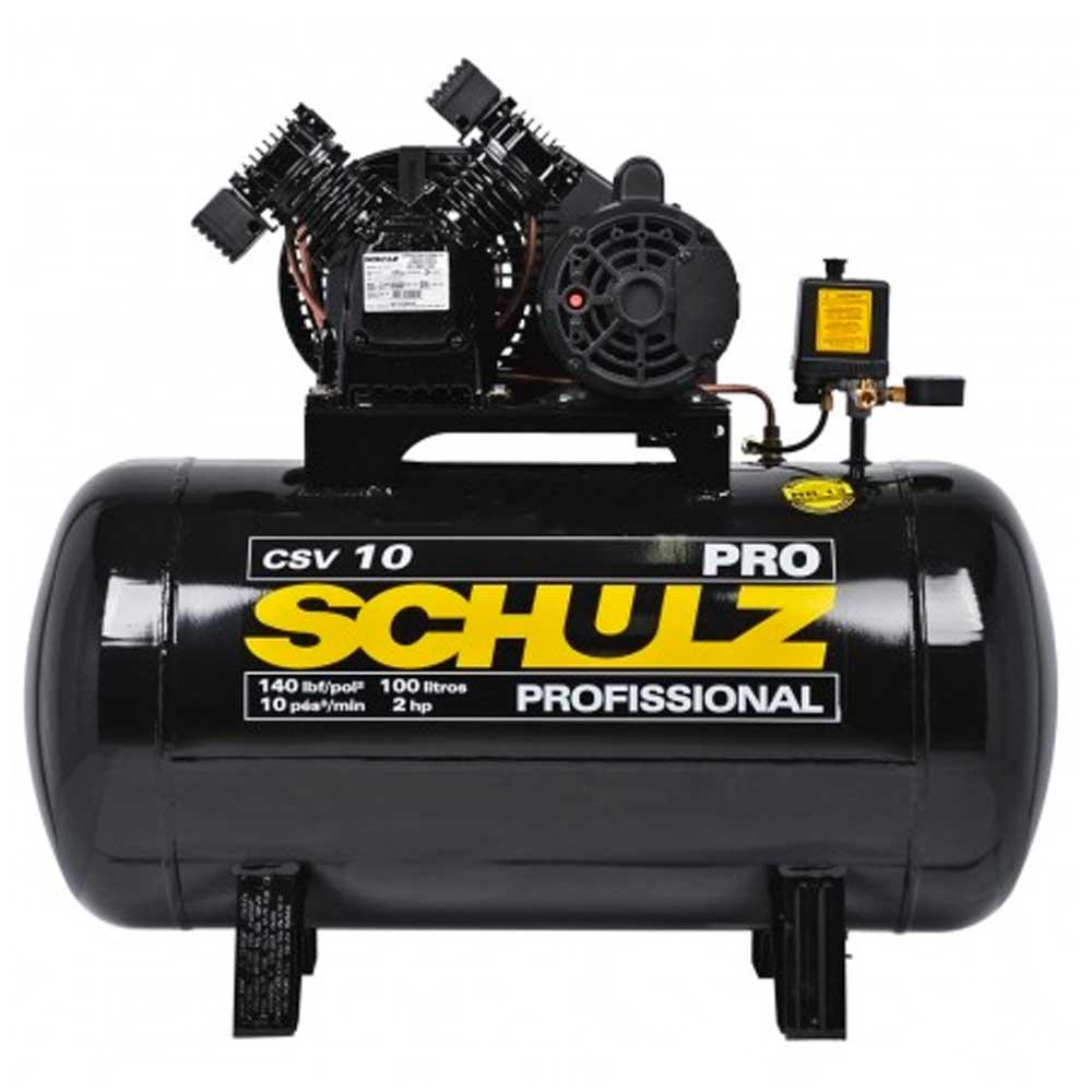 Compressor De Ar Pro 10 pes CSV10/100L 2CV 220v Schulz