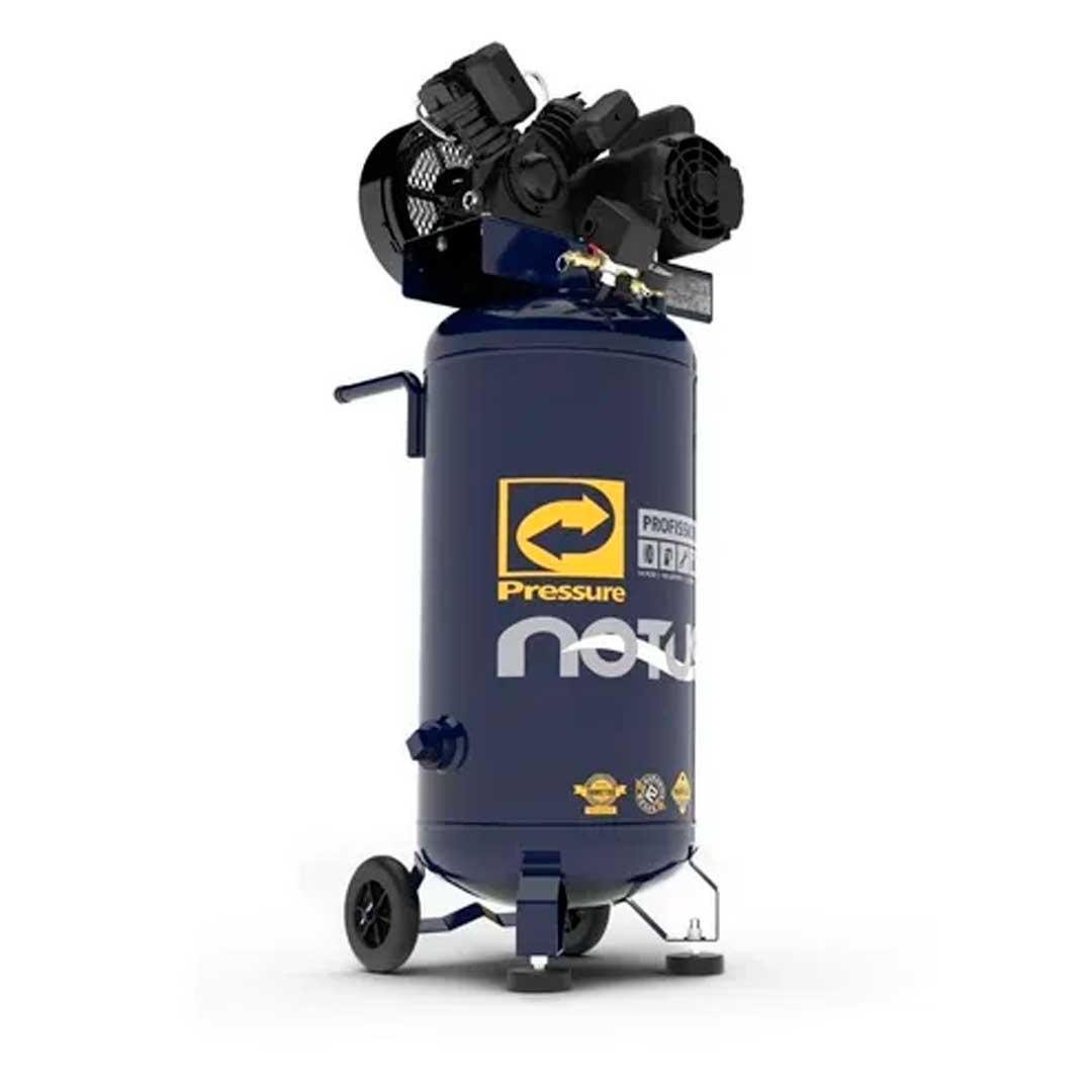 Compressor Pressure Notus Movel 10 pes 10/80l. Motor 2CV Mono WEG