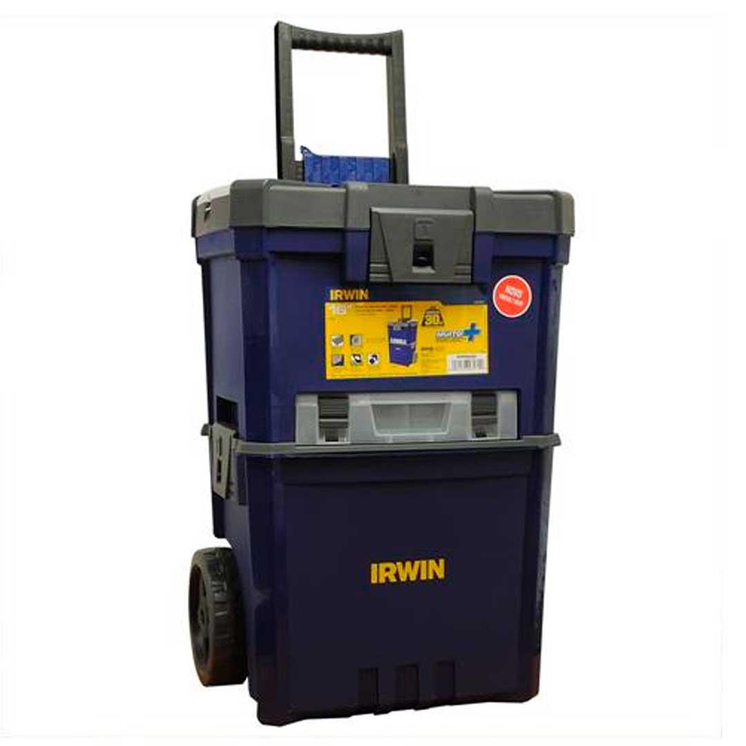 Conjunto Caixas Plasticas Cart 160 Rodas-1903054-Irwin