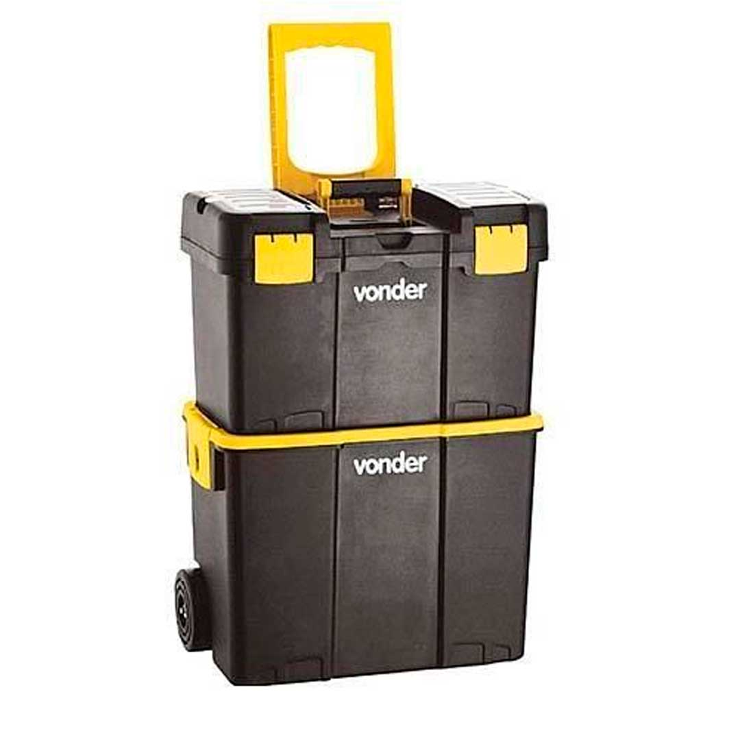 Conjunto Caixas Plasticas Rodas Crv 0300-6105030000-Vonder