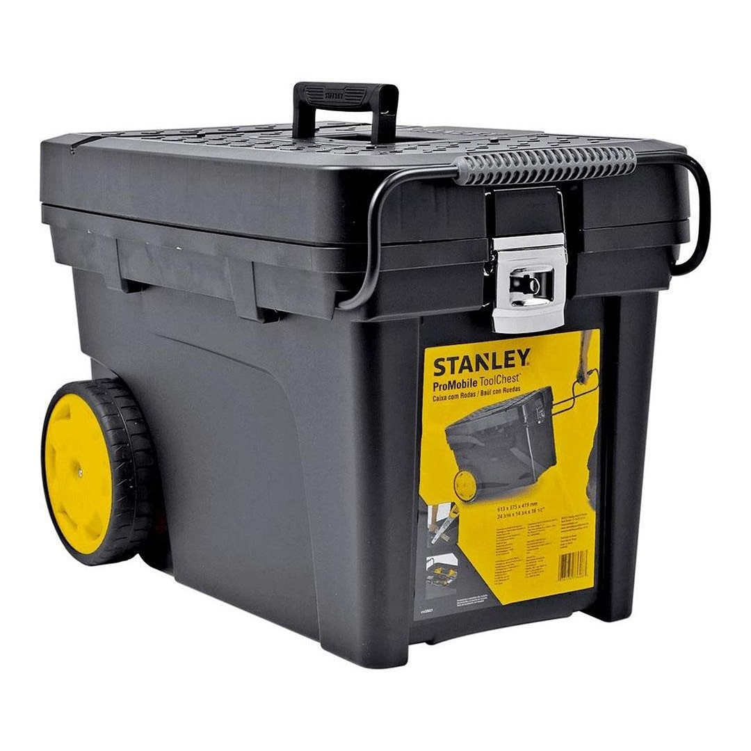 Caixa Conjunto Contractor C/ Rodas Stanley STST33027