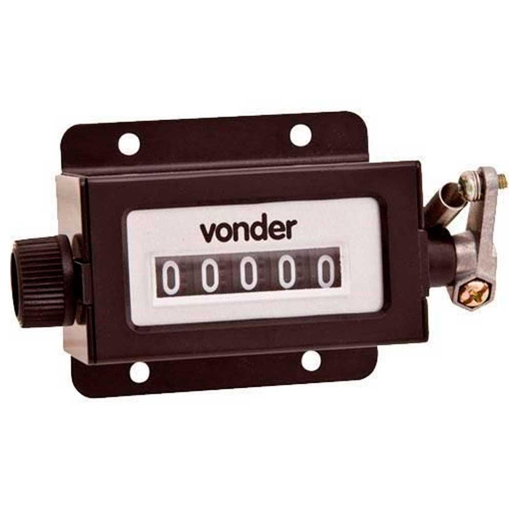 Contador mecânico com 5 dígitos Vcm-5 - Vonder