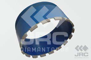 Coroa Diamantado P/ Perfuratriz 4.1/4 - 108MM - JRC Diamantados
