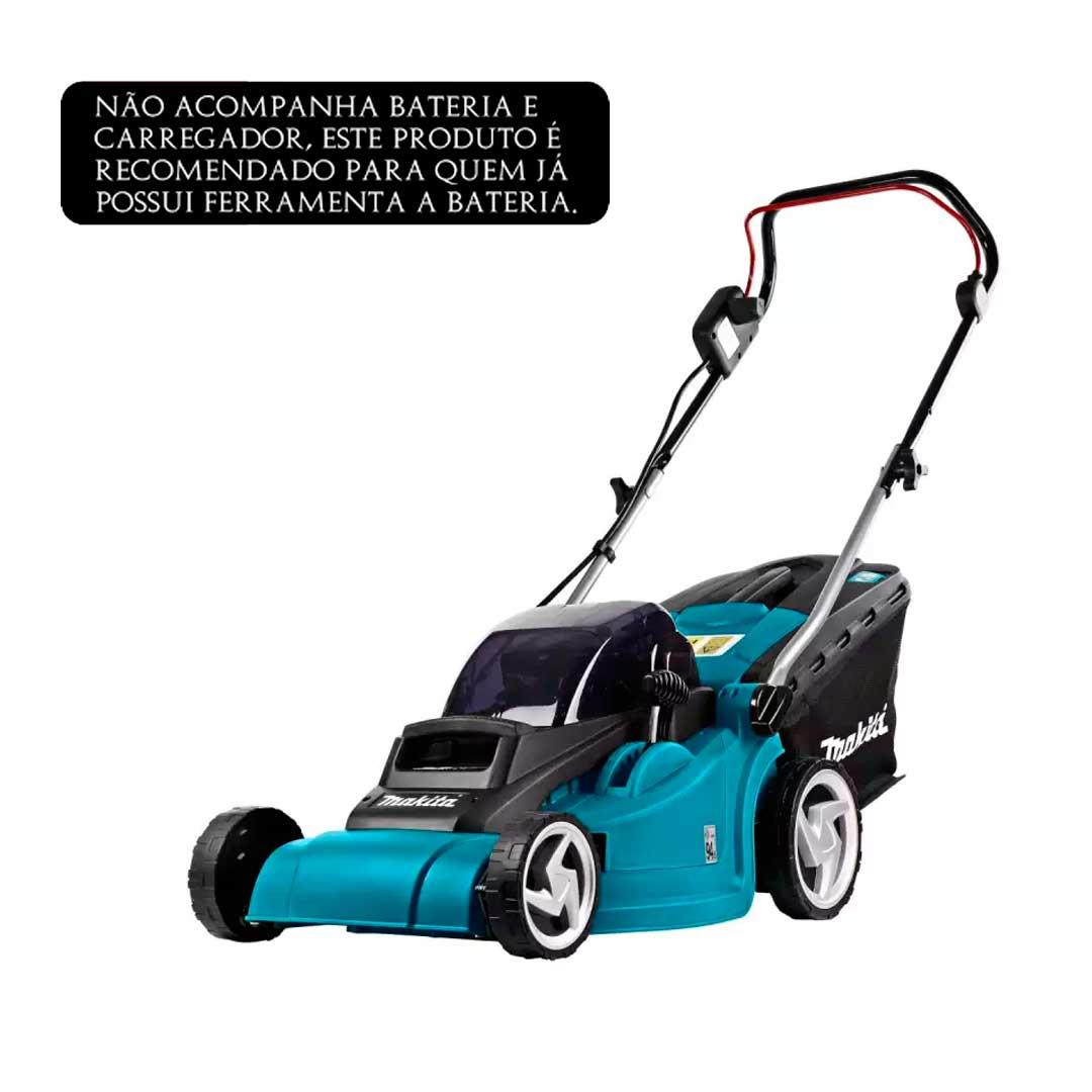 Cortador De Grama A Bateria 36v (18v+ 18v) DLM380Z Makita