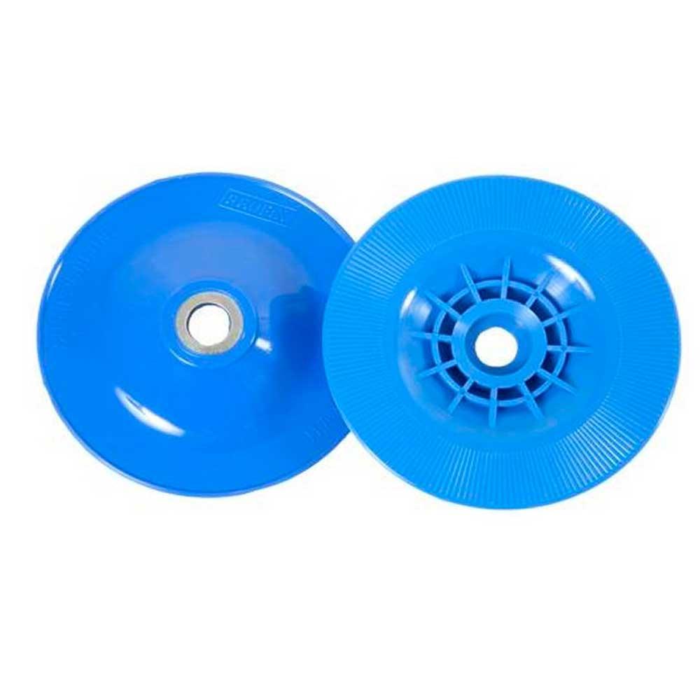 Disco 4 1/2 Suporte De Lixa Azul Semi Rígido - Profix