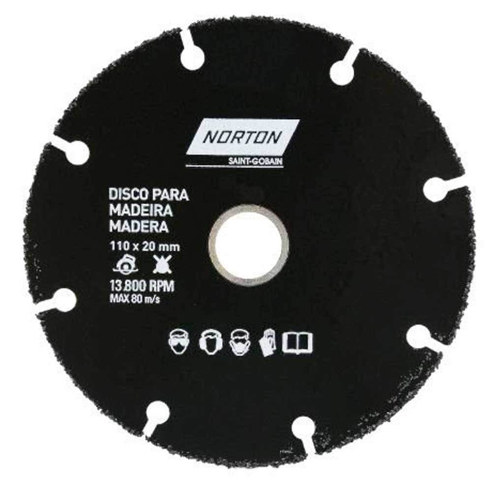 Disco de Corte 110mm para Madeira NORTON 69957315170