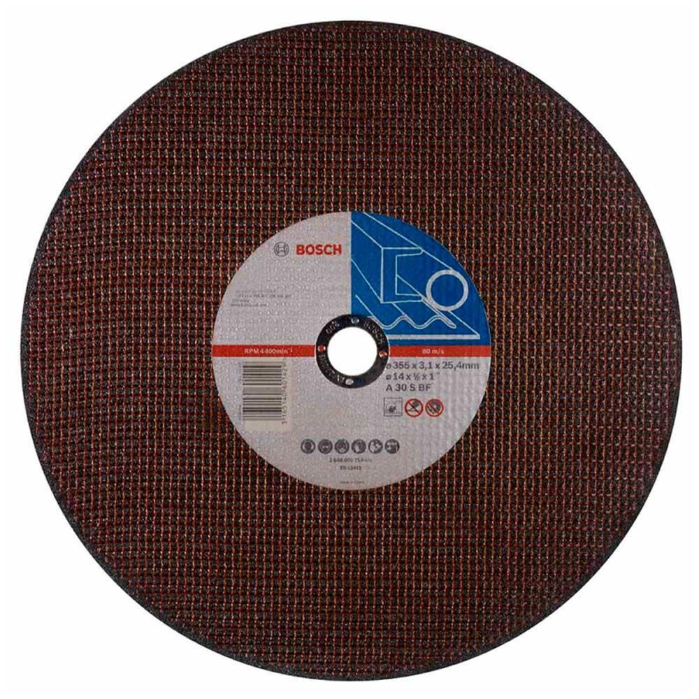 Disco de Corte 14 POL 2 Telas Furo de 1 Pol Bosch