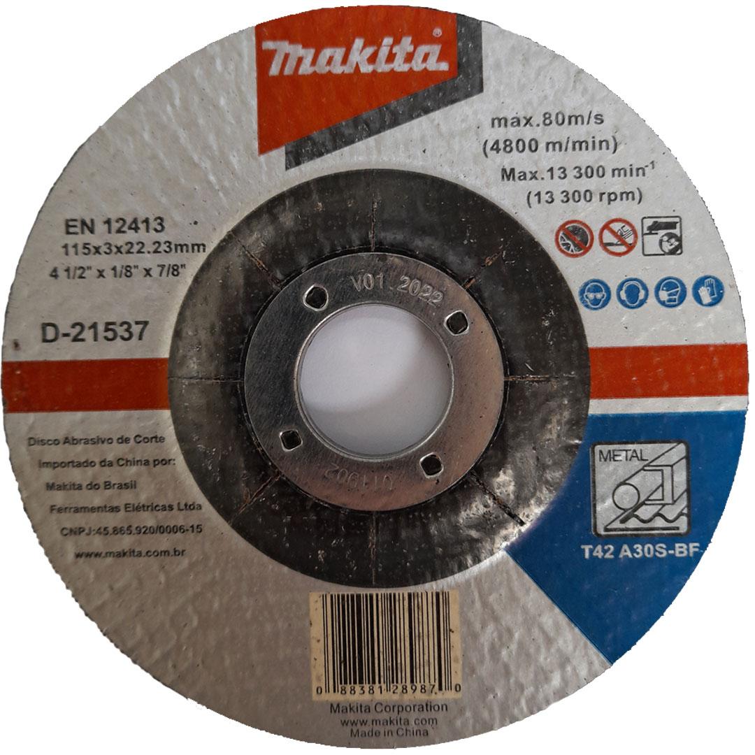 Disco de Corte Inox 4.1/2
