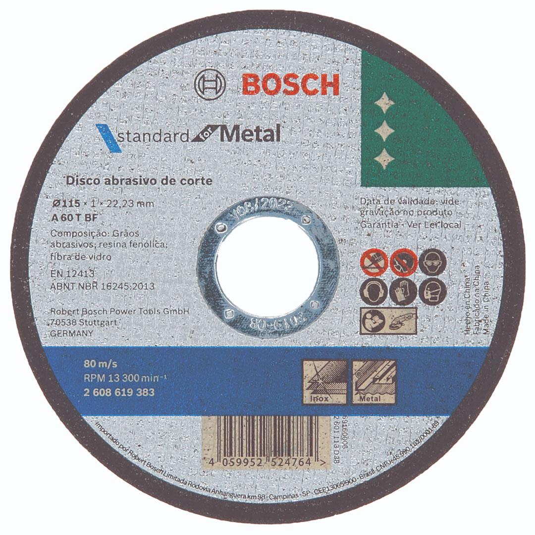 Disco de Corte Metal 4.1/2