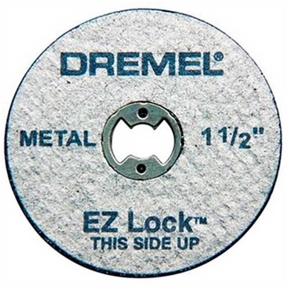 Disco De Corte Para Metais 38mm Ez Lock 5 Peças Ez456 Dremel