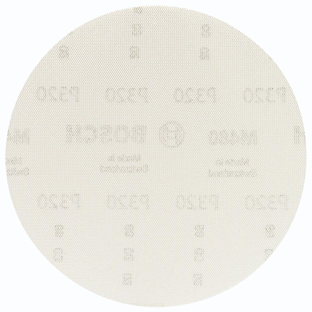 """Disco de Lixa Com Velcro 6"""" #320 Telado BOSCH NET"""