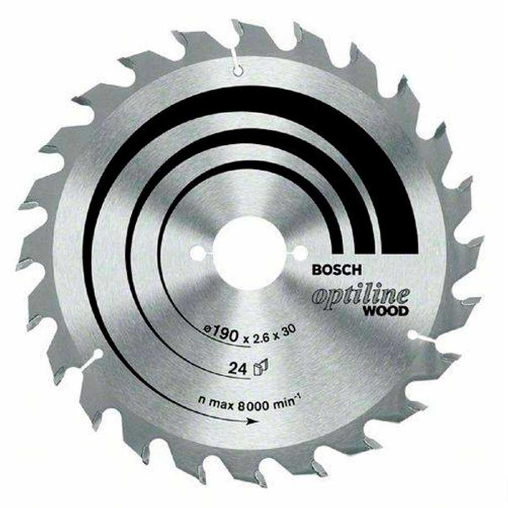 Disco de Serra Circular Optline 184 mm 24 dentes  2608640852 Bosch