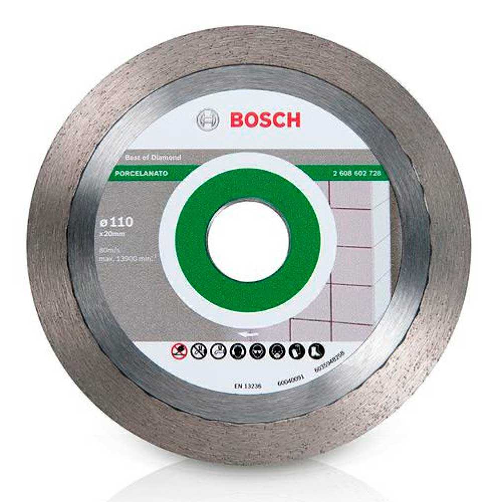 Disco Diamantado  110mm 4.3/8 Liso Porcelanato  2608602728  - Bosch