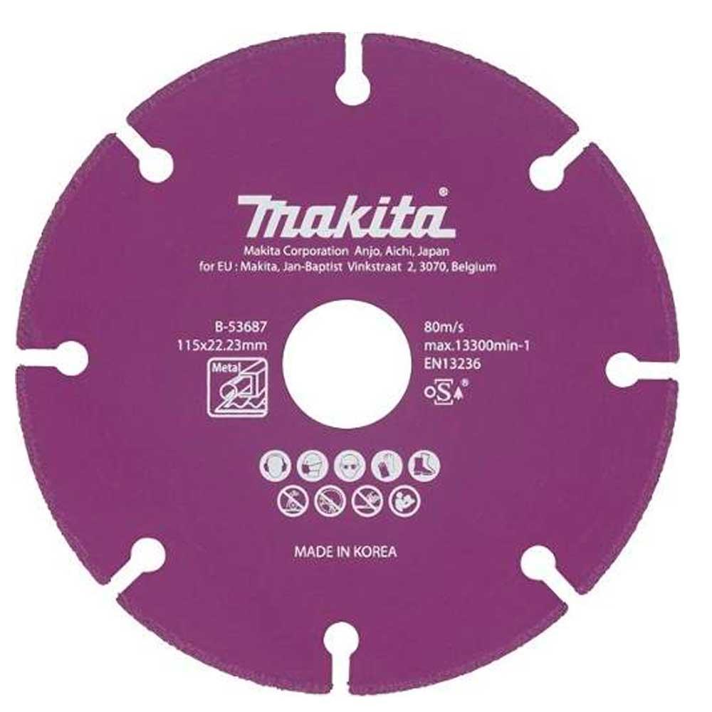 Disco Diamantado 4.1/2 Para Metais Original Makita B-53687