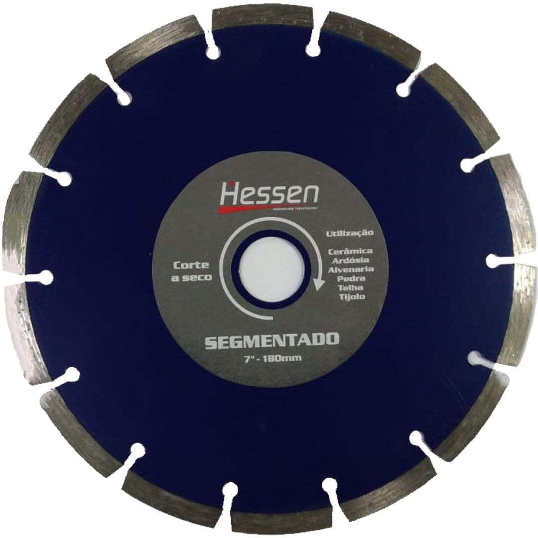 "Disco Diamantado 7"" (180mm) SEGMENTADO HESSEN"