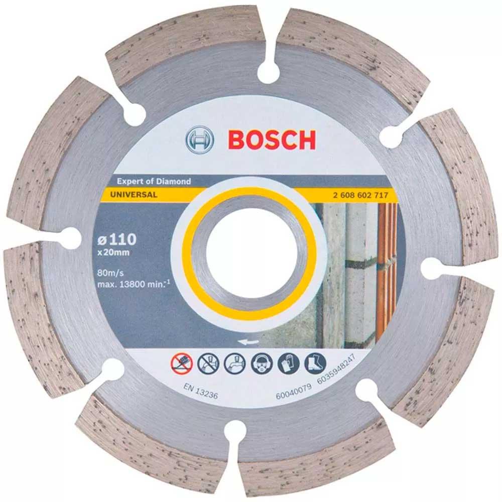 "Disco Diamantado Expert Segmentado  110m 4.3/8"" - 2608602717 - Bosch"