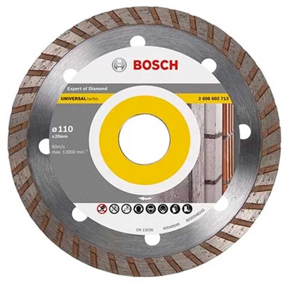 Disco Diamantado Expert Turbo 110mm 4.3/8 - 2608602713 - Bosch
