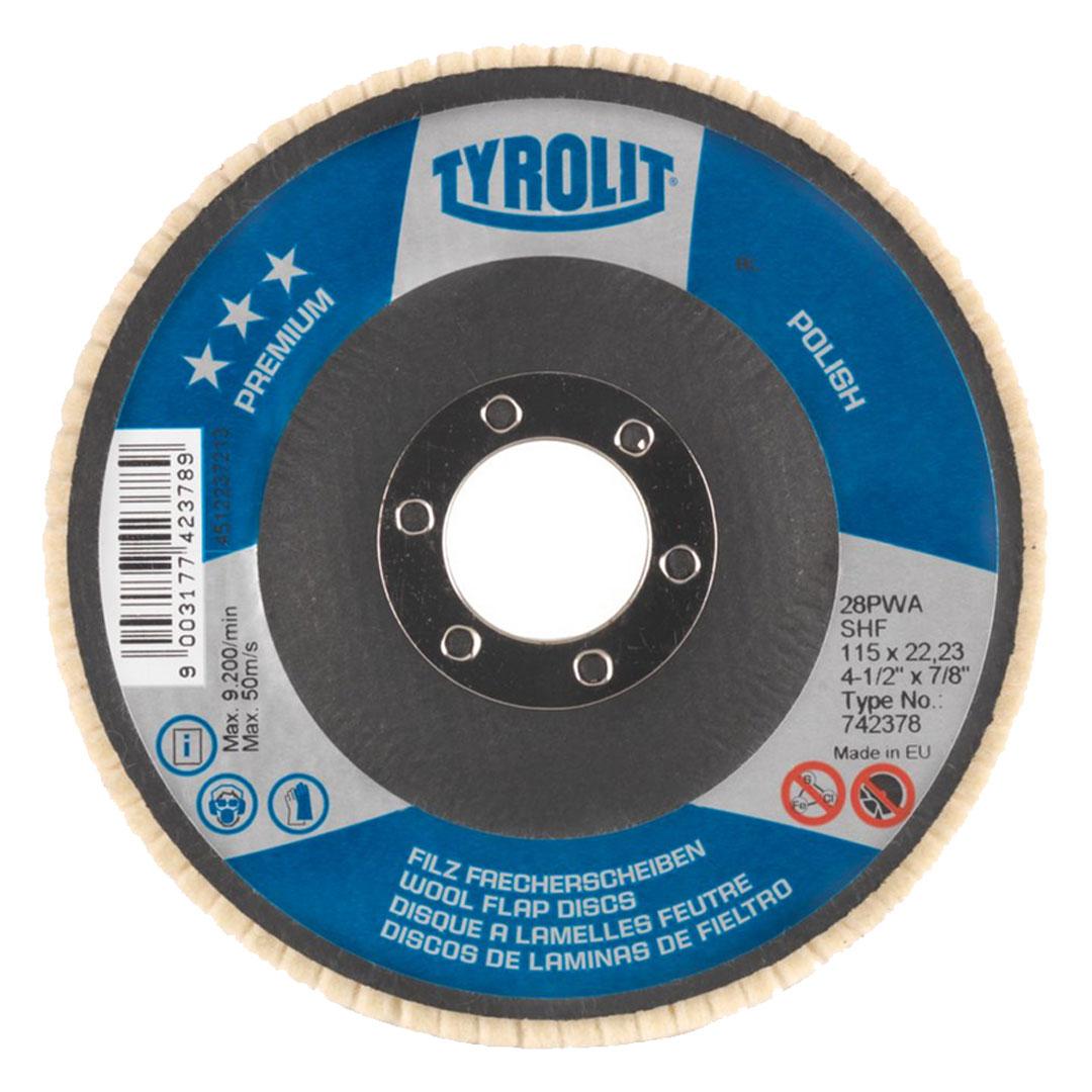 Disco Feltro P/ Polimento Espelhado Premium Polish Shf 742378- TYROLIT