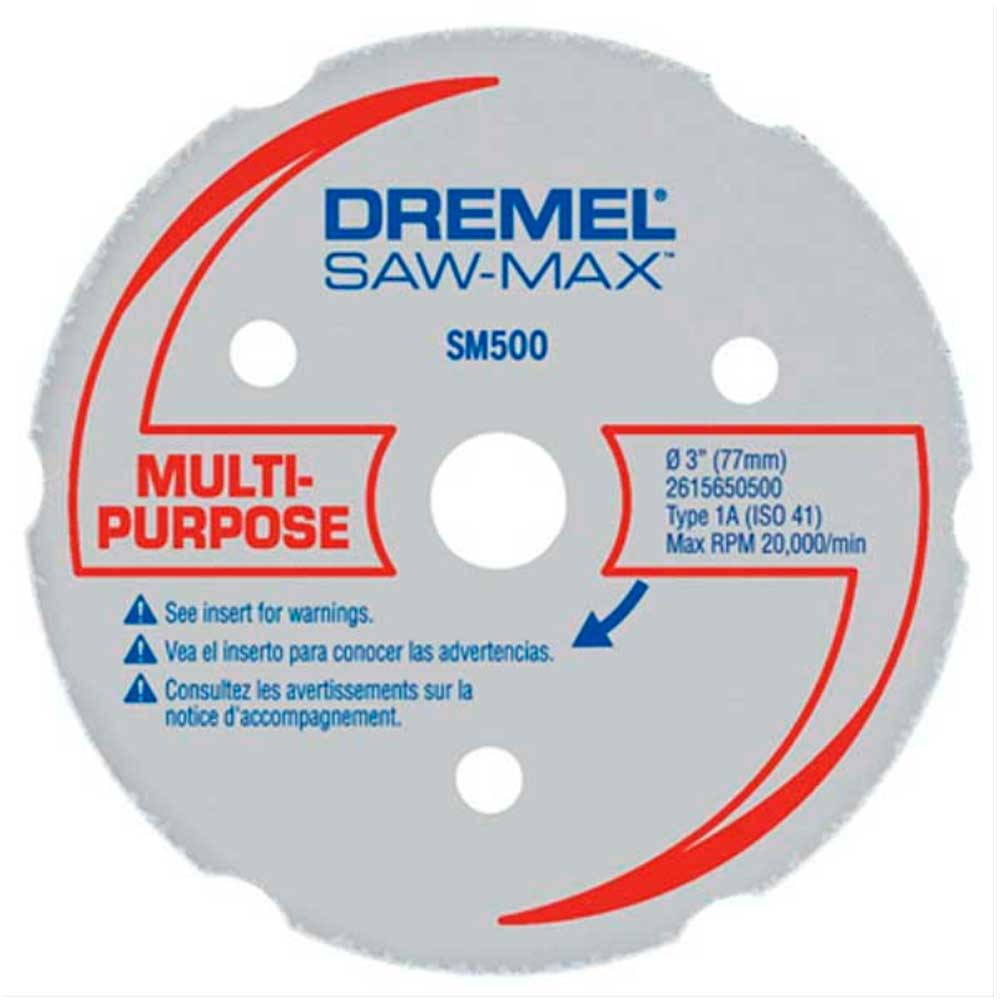 Disco Multiuso para Corte Reto SM500 para Dremel Saw Max DREMEL