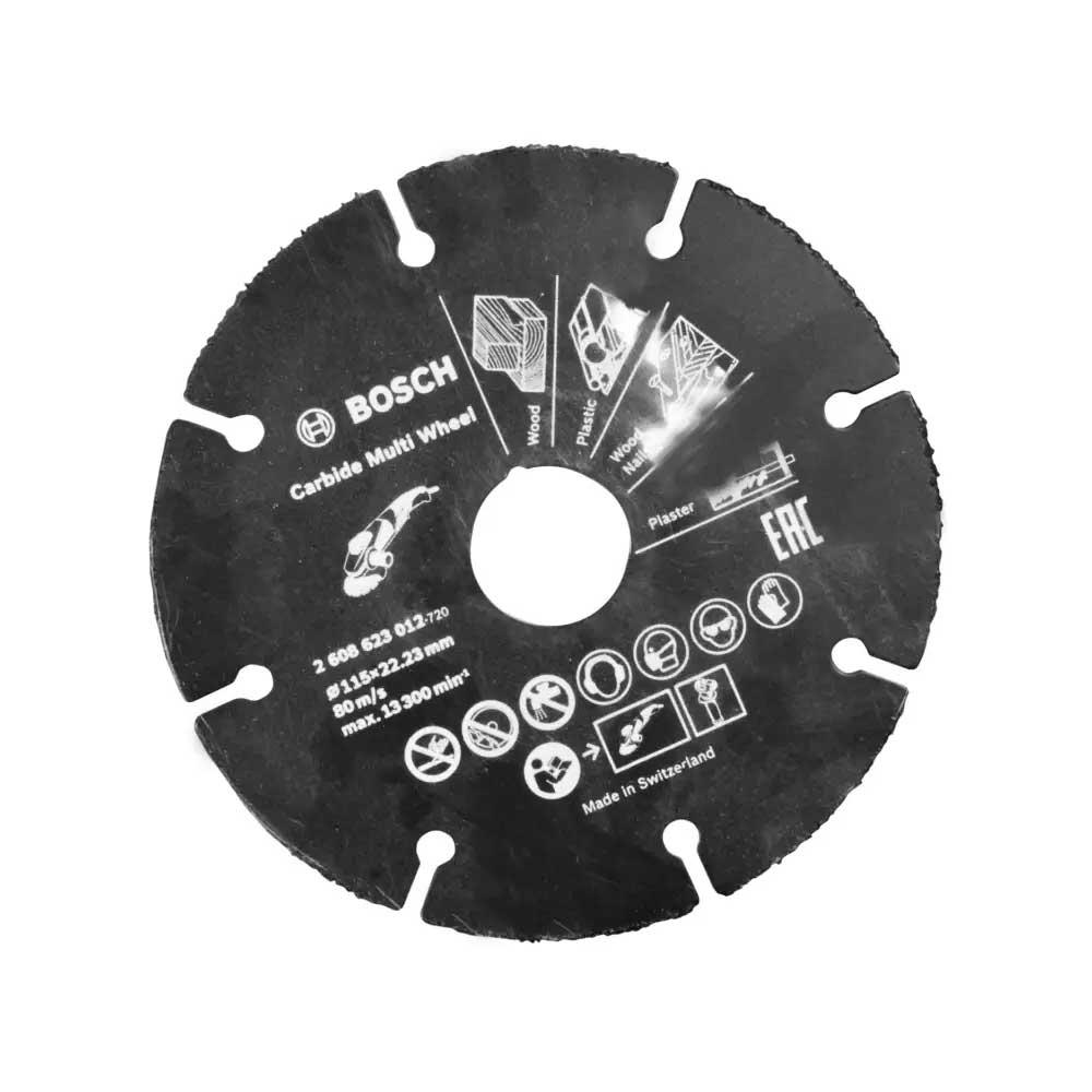 Disco P/ Esmerilhadeira Serra Maderia 115mm Bosch 2608623012