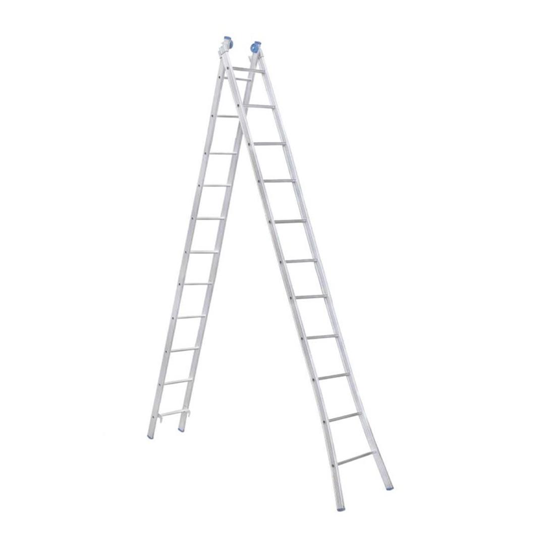 Escada Aluminio Extensiva Articulada 2 X 11 Degraus - EEA11 Alumasa