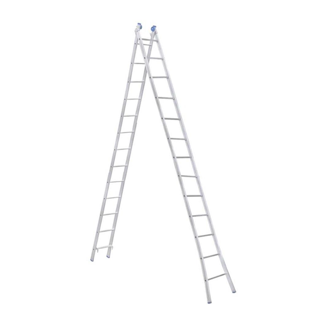 Escada Aluminio Extensiva Articulada 2 X 13 Degraus - EEA13 Alumasa