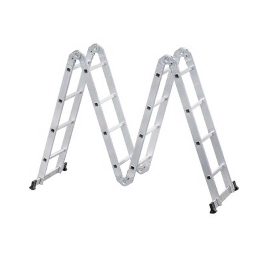 Escada Multifuncional 8 Em 1 Aluminio 4x4  8501000044 Vonder